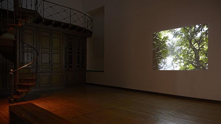 Exhibition view. Azucena Vieites. Tableau vivant, 2013