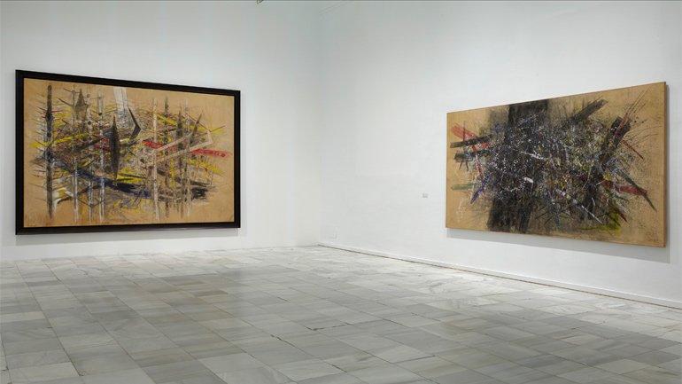 Exhibition view. Wifredo Lam