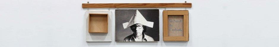 Robert Filliou. Autoportrait bien fait, mal fait, pas fait (Autorretrato bien hecho, mal hecho, no hecho), 1973 © Estate of Robert Filliou. Cortesía de la Galería Nelson-Freeman, Paris