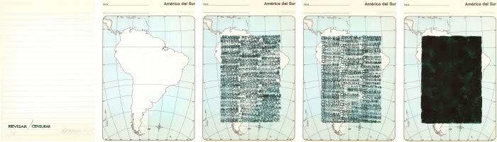 Horacio Zabala. Revisar/Censurar, 1974