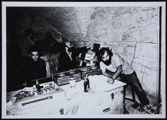Trabajo-Soledad interrumpida. Encuentros de Pamplona, 1972. Archivo Alexanco. Centro de Documentación