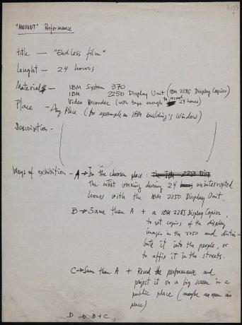 """""""Mouvnt"""" performance (fragmento). Archivo Alexanco. Centro de Documentación"""