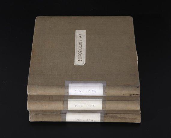 Álbumes cronológicos. Archivo Biosca. Centro de Documentación