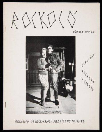 Miguel Trillo. Fanzine Rockokó, n. 4 (ca. 1983). Archivo Miguel Trillo. Centro de Documentación
